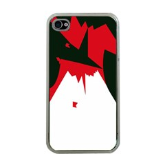 Volcano  Apple iPhone 4 Case (Clear)