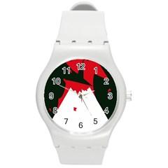 Volcano  Round Plastic Sport Watch (M)