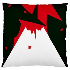 Volcano  Large Cushion Case (Two Sides)