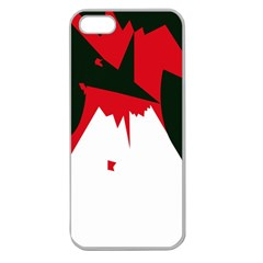 Volcano  Apple Seamless iPhone 5 Case (Clear)