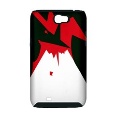 Volcano  Samsung Galaxy Note 2 Hardshell Case (PC+Silicone)