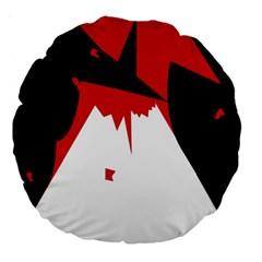 Volcano  Large 18  Premium Round Cushions