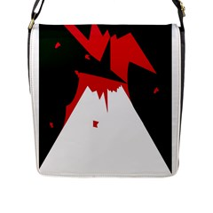 Volcano  Flap Messenger Bag (L)