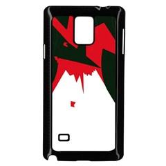 Volcano  Samsung Galaxy Note 4 Case (Black)