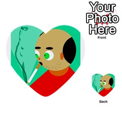 Smoker  Multi-purpose Cards (Heart)