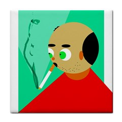 Smoker  Face Towel