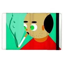 Smoker  Apple Ipad 2 Flip Case