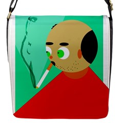 Smoker  Flap Messenger Bag (s)