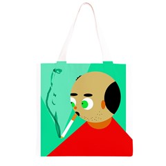 Smoker  Grocery Light Tote Bag