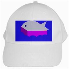 Big Fish White Cap