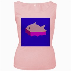 Big Fish Women s Pink Tank Top