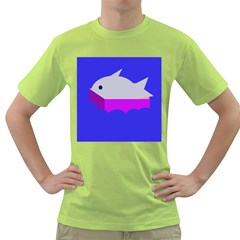 Big Fish Green T Shirt