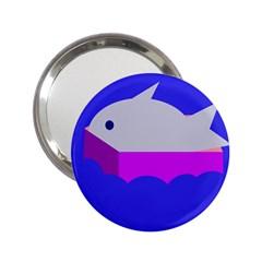 Big fish 2.25  Handbag Mirrors