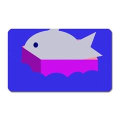 Big Fish Magnet (rectangular)