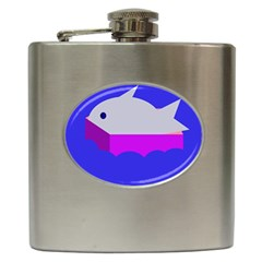 Big Fish Hip Flask (6 Oz)