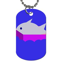 Big Fish Dog Tag (two Sides)