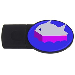 Big Fish Usb Flash Drive Oval (2 Gb)