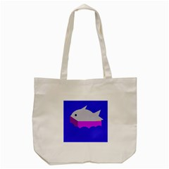 Big Fish Tote Bag (cream)