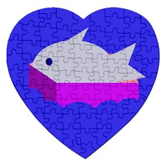 Big Fish Jigsaw Puzzle (heart)