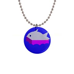 Big Fish Button Necklaces