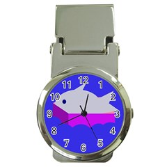Big fish Money Clip Watches