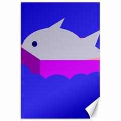 Big Fish Canvas 20  X 30