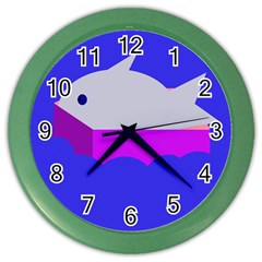 Big Fish Color Wall Clocks