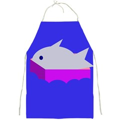 Big fish Full Print Aprons