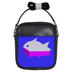 Big Fish Girls Sling Bags