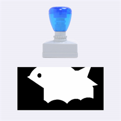 Big fish Rubber Stamps (Medium)