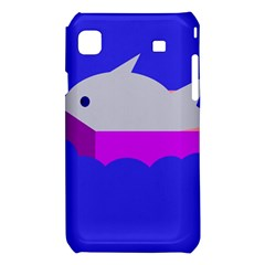 Big fish Samsung Galaxy S i9008 Hardshell Case