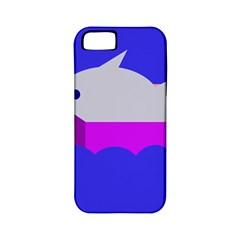 Big fish Apple iPhone 5 Classic Hardshell Case (PC+Silicone)