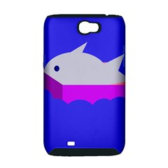 Big fish Samsung Galaxy Note 2 Hardshell Case (PC+Silicone)