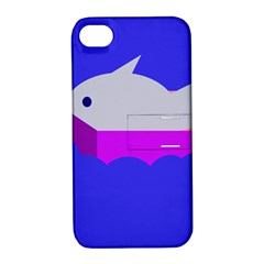 Big fish Apple iPhone 4/4S Hardshell Case with Stand