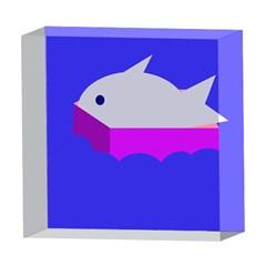 Big fish 5  x 5  Acrylic Photo Blocks