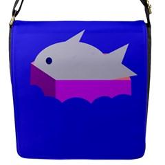 Big Fish Flap Messenger Bag (s)
