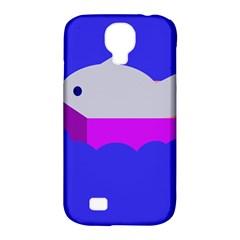 Big fish Samsung Galaxy S4 Classic Hardshell Case (PC+Silicone)