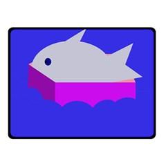 Big Fish Double Sided Fleece Blanket (small)