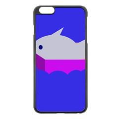 Big fish Apple iPhone 6 Plus/6S Plus Black Enamel Case