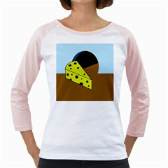 Cheese  Girly Raglans