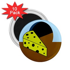 Cheese  2.25  Magnets (10 pack)
