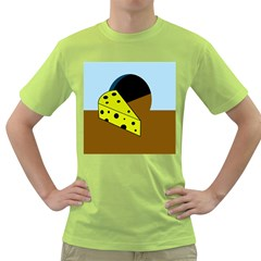 Cheese  Green T Shirt