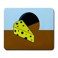 Cheese  Large Mousepads