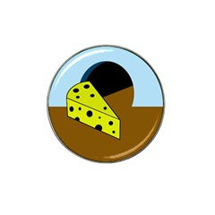 Cheese  Hat Clip Ball Marker (4 pack)