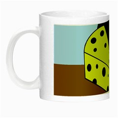 Cheese  Night Luminous Mugs