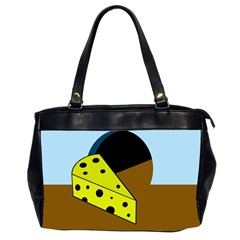 Cheese  Office Handbags (2 Sides)