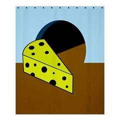 Cheese  Shower Curtain 60  x 72  (Medium)