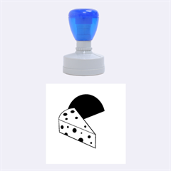 Cheese  Rubber Round Stamps (Medium)