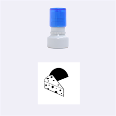 Cheese  Rubber Round Stamps (Small)