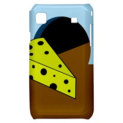 Cheese  Samsung Galaxy S i9000 Hardshell Case